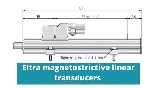 Magnetostrictive linear position sensor by Eltra. The best magnetostrictive displacement transducer in industry!