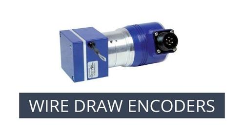 Draw wire (rope) encoders by Eltra
