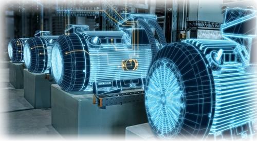 Eltra encoder for medium and big size motors